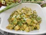 Contorno semplice con zucchine
