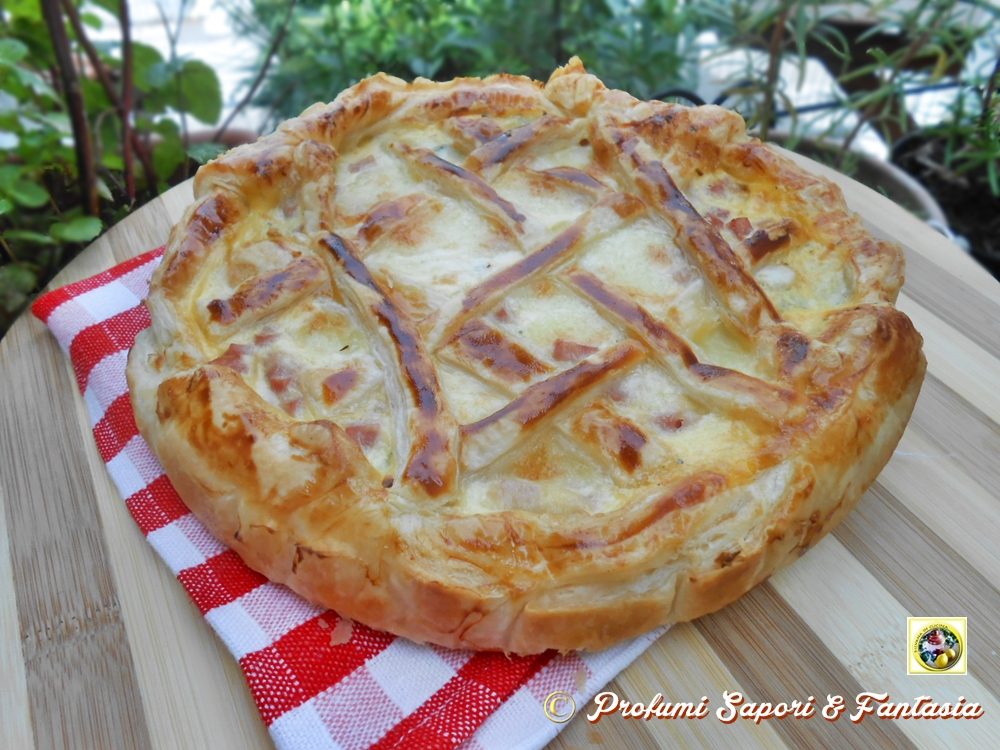 Torte salate con pasta sfoglia alle verdure ricette for Torte salate con pasta sfoglia