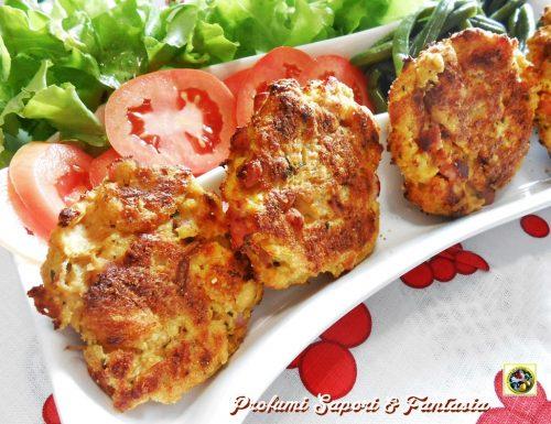 Hamburger di carne e verdure al forno