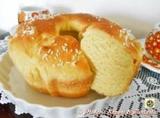 Pan brioche dolce con ricotta senza uova e burro