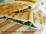 Focaccia in padella con erbette e pancetta Blog Profumi Sapori & Fantasia