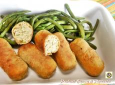 Crocchette di pollo e zucchine