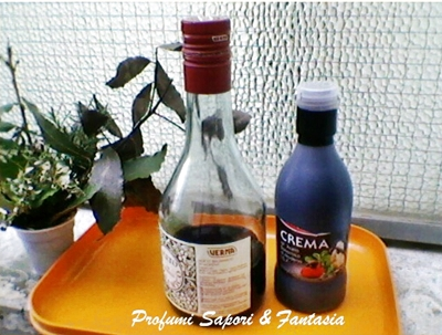 Marinata all'aceto balsamico