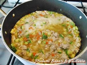 Ragu' bianco con zucchine alla birra Blog Profumi Sapori & Fantasia