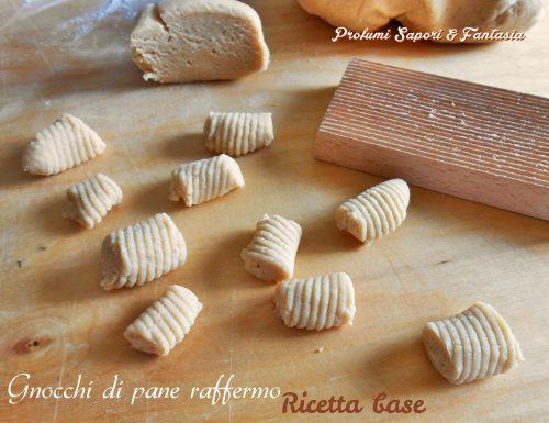 Gnocchi di pane raffermo ricetta base