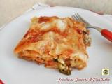 Lasagne al forno delicate Blog Profumi Sapori & Fantasia