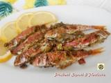 Triglie al forno gratinate con olive verdi Blog Profumi Sapori & Fantasia