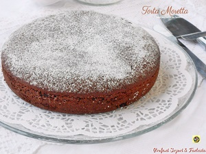Torta moretta base per torte da farcire piccola