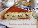 Crostata con crema di ricotta e cioccolato Blog Profumi Sapori & Fantasia