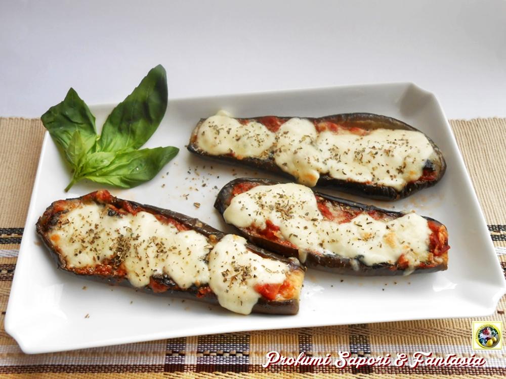 Melanzane con pomodoro basilico e mozzarella Blog Profumi Sapori & Fantasia