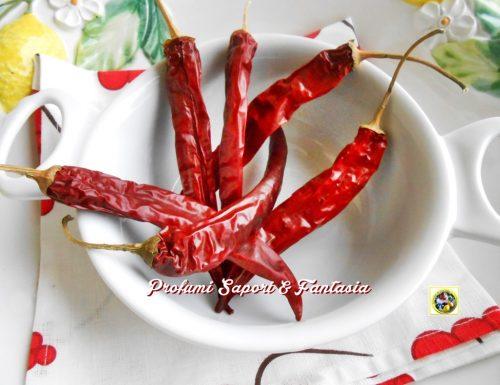 Come usare i peperoncini secchi