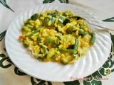 Risotto con zucchine e fagiolini Blog Profumi Sapori & Fantasia