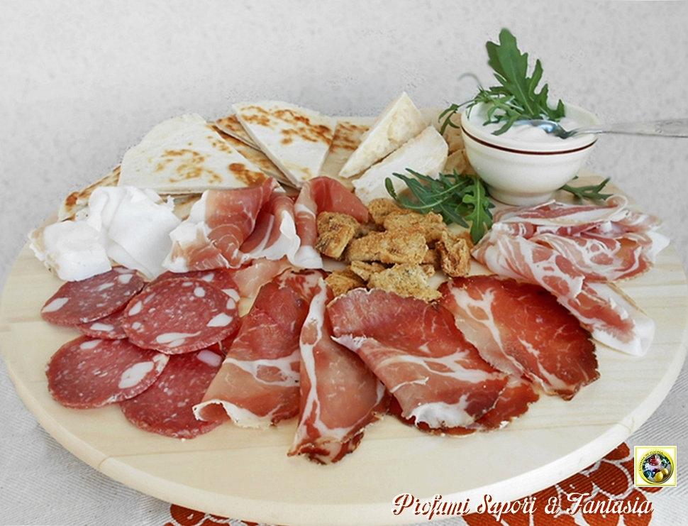 Antipasto tipico romagnolo Blog profumi Sapori & Fantasia