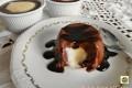 Crema al cioccolato con cuore di vaniglia