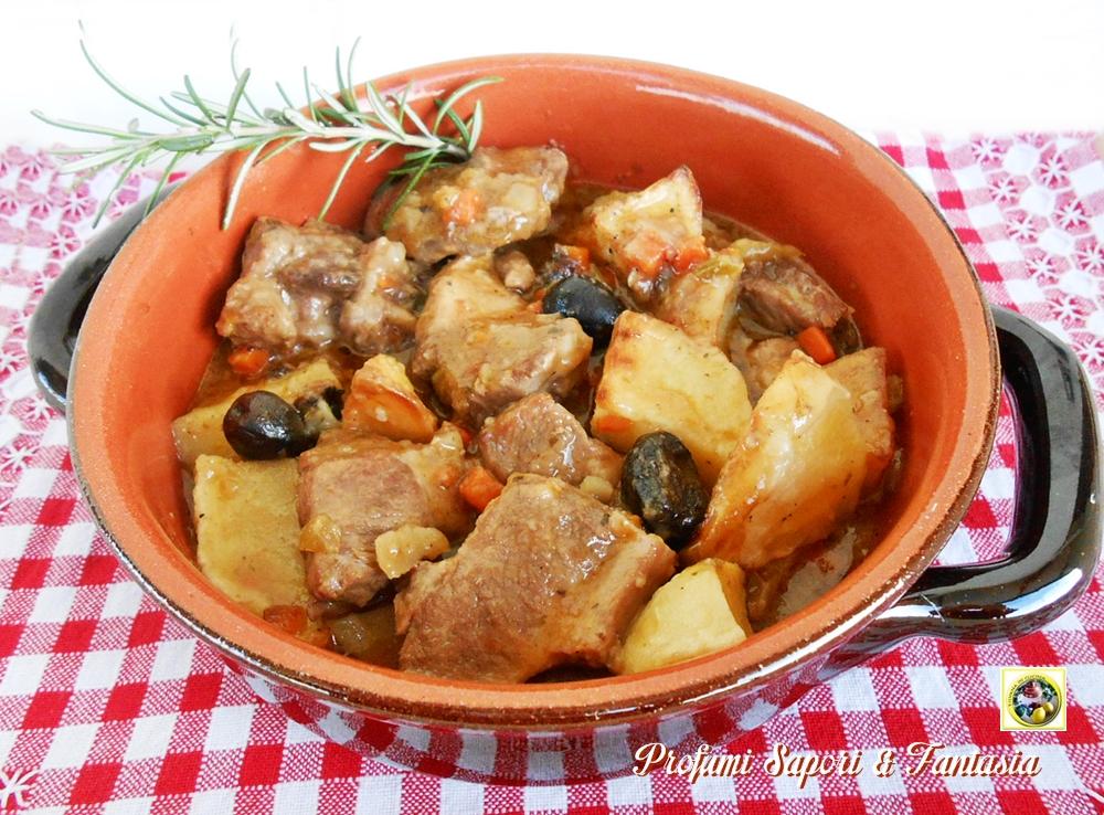 Ricetta bocconcini di carne con patate