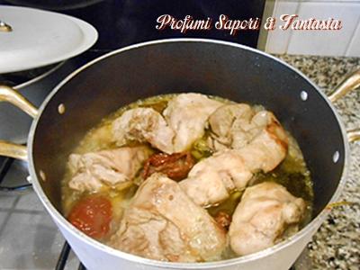 Coniglio in umido al vino bianco Blog Profumi Sapori & Fantasia