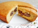 Torta di ricotta e Nutella Blog Profumi Sapori & Fantasia