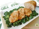 Polpettone di pollo e ricotta con salsa di verdure Blog Profumi Sapori & Fantasia