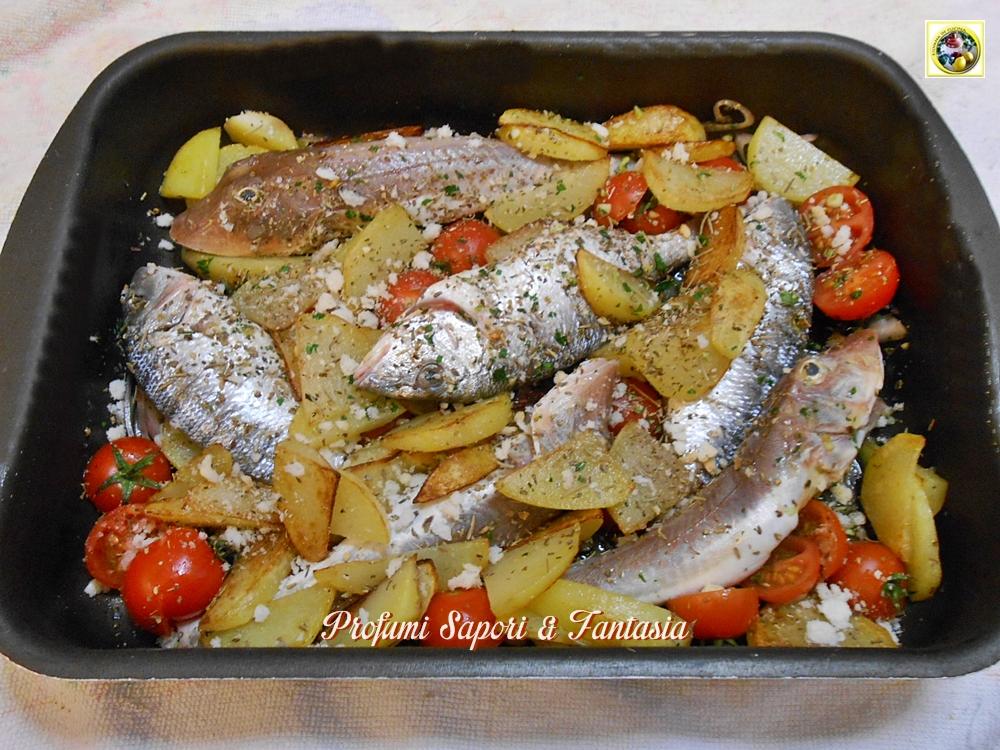 gallinella di mare al forno con patate ricetta - Come Cucinare Filetti Di Gallinella