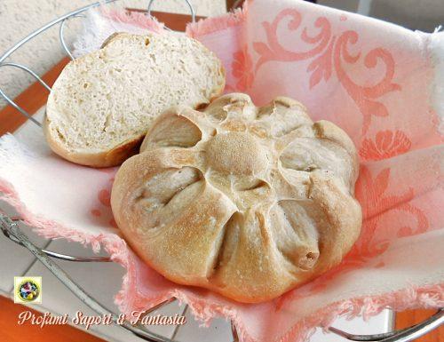 Rosette di pane con lievito madre in esubero