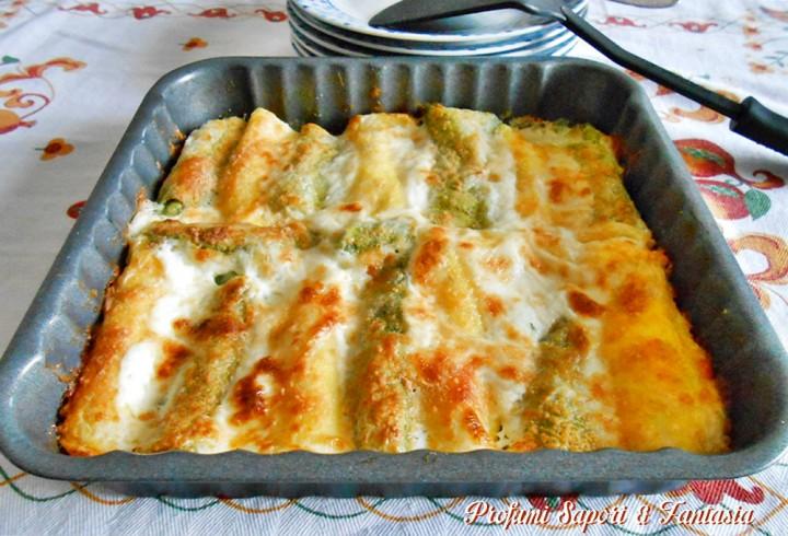 Cannelloni ripieni ai 4 formaggi Blog Profumi Sapori & Fantasia
