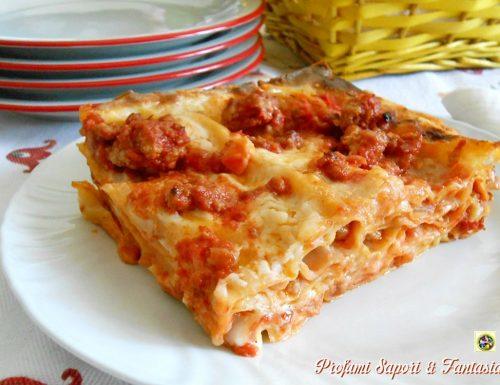 Lasagne al forno ricetta alla romagnola