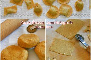 Pasta fresca semi integrale