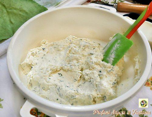 Ripieno ai quattro formaggi per pasta fresca
