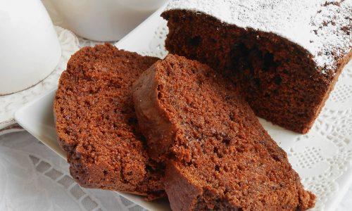 Plumcake con cioccolato fondente