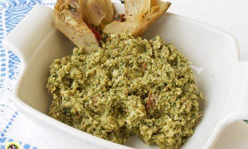 Ripieno per pasta carciofi speck e spinaci