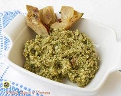 Ripieno per pasta fresca carciofi e speck