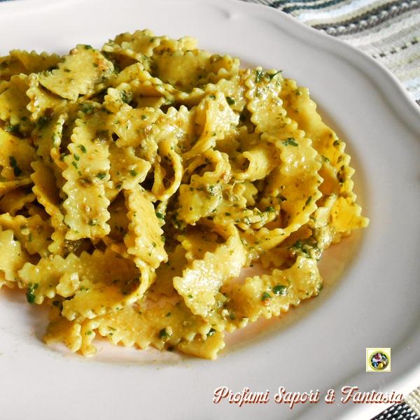 Pesto di fagiolini con nocciole Blog Profumi Sapori & Fantasia