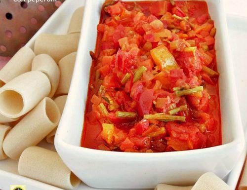 Sugo per la pasta con peperoni