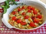 Tortino di patate e zucchine al forno Blog Profumi Sapori & Fantasia