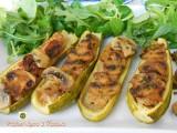 Zucchine ripiene di carne e funghi Blog Profumi Sapori & Fantasia