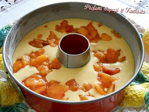 Ciambella con pesche e yogurt Blog Profumi Sapori & Fantasia