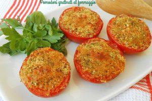 Pomodori gratinati al formaggio