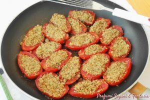 Pomodori gratinati in padella