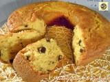 Pan d'arancio con gocce di cioccolato