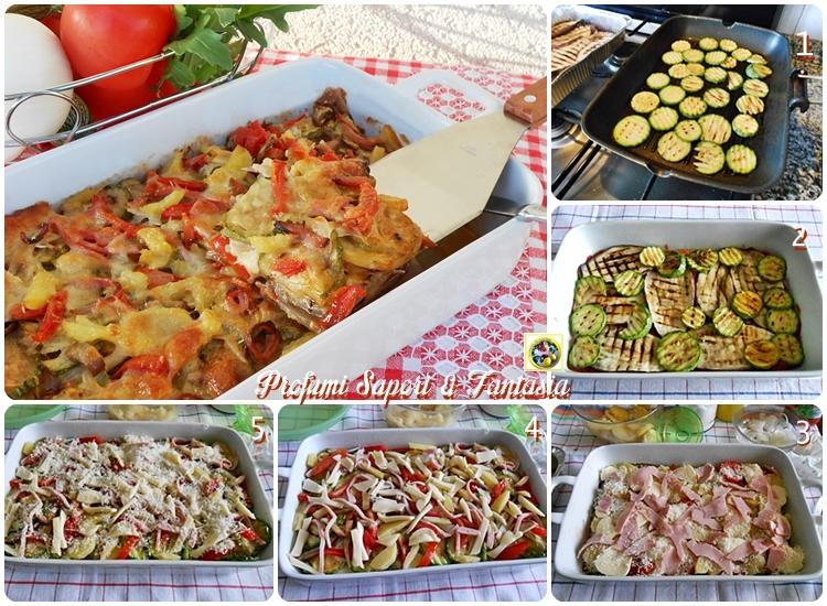 Verdure grigliate filanti al forno Blog Profumi Sapori & Fantasia