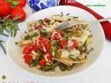 Paccheri in insalata con verdure Blog Profumi Sapori & Fantasia