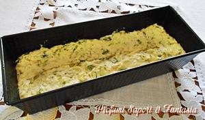 Plumcake salato con zucchine basilico e ricotta Blog Profumi Sapori & Fantasia