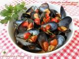 Cozze alla marinara piccanti con pomodorini Blog Profumi Sapori & Fantasia