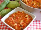 Caponata con melanzane e zucchine Blog Profumi Sapori & Fantasia