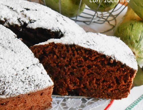 Torta al cacao con zucchine ricetta facile