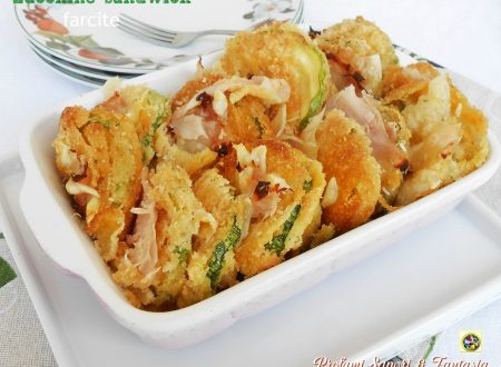 Zucchine sandwich farcite ricetta sfiziosa