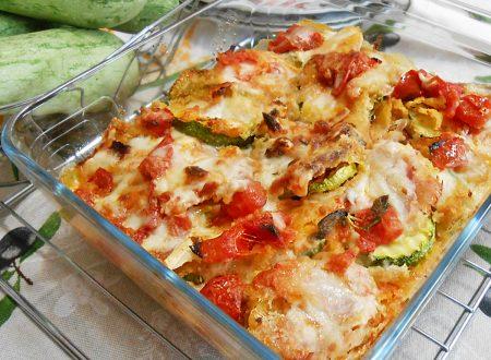 Zucchine pasticciate al forno ricetta gustosa