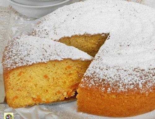 Torta con mascarpone e albicocche ricetta