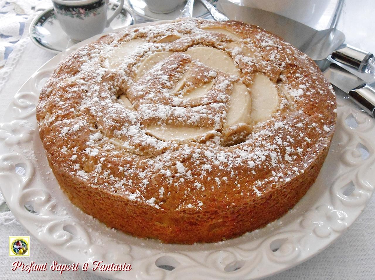 Torta integrale con mele e mascarpone Blog Profumi Sapori & Fantasia