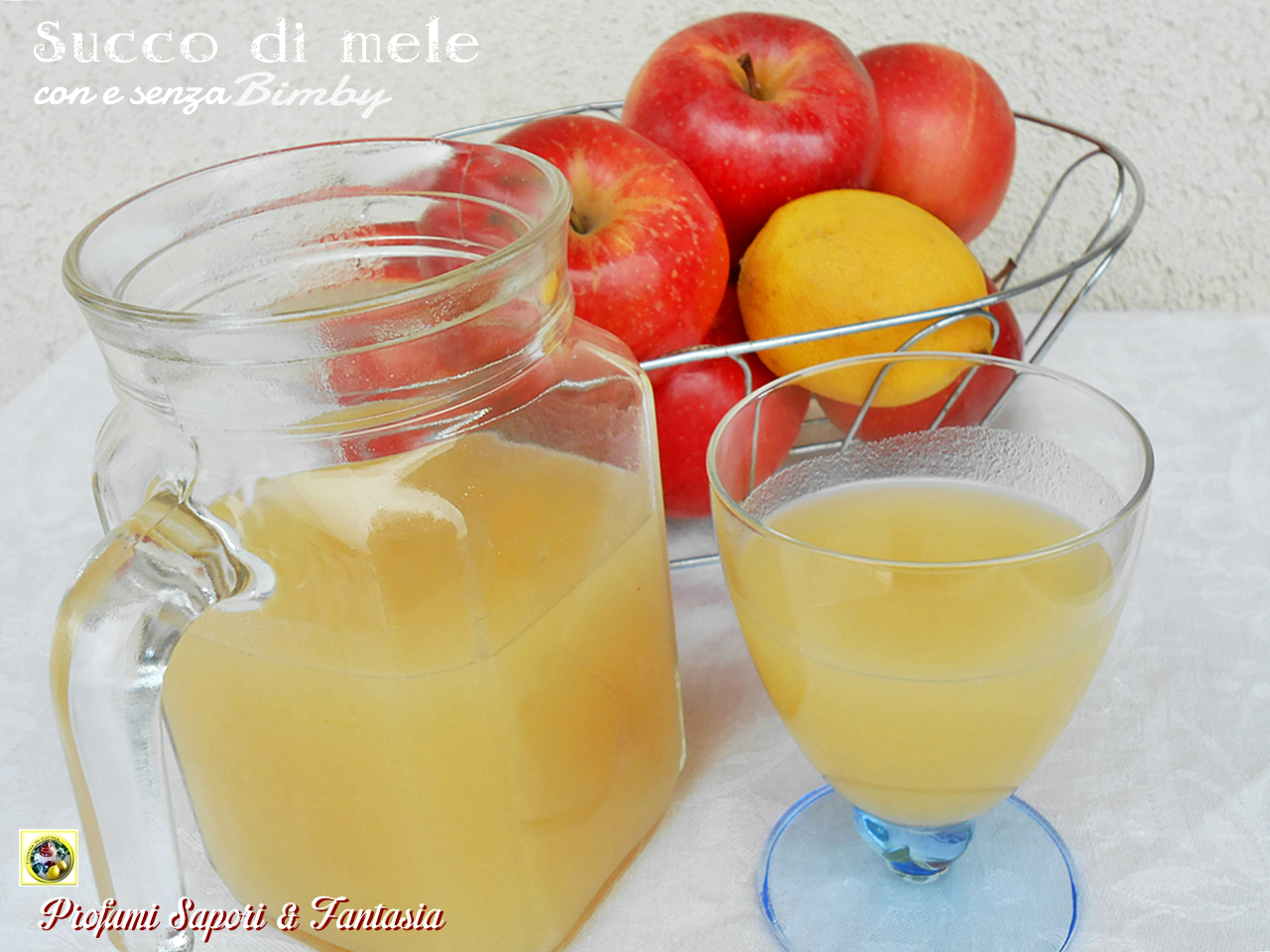 Succo di mele fatto in casa con e senza Bimby Blog Profumi Sapori & Fantasia